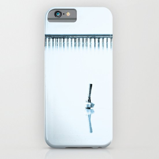 Blue loneliness iPhone & iPod Case