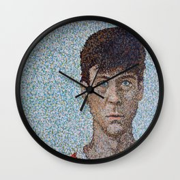 Stop and Look Around Wall Clock