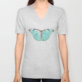 Butterfly Flutter By Unisex V-Neck