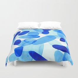 Beach Glass Blue Duvet Cover