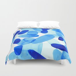 Beach Glass Blue Duvet Cover