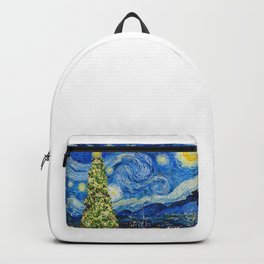Van Gogh Starry Night - Christmas Tree Backpack
