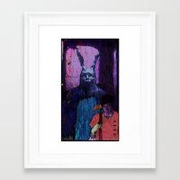 donnie darko Framed Art Prints featuring Donnie Darko by brett66