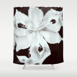 Ghostly Gardens The Specter Flower Shower Curtain
