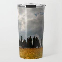 Golden fields of Tuscany Travel Mug