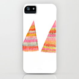 shaggy  triangle iPhone Case