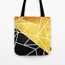 Coal and Gold Tote Bag