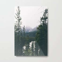 Jasper National Park II Metal Print
