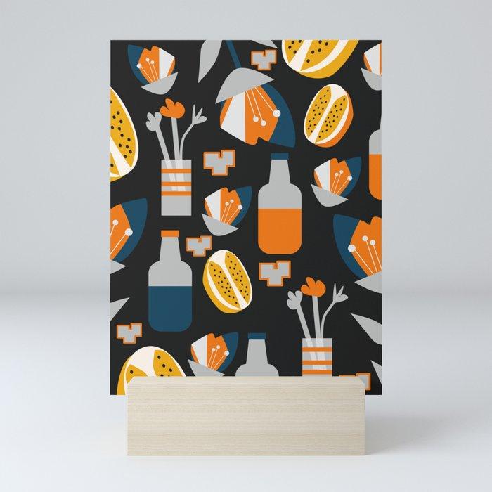 Orange juice Mini Art Print