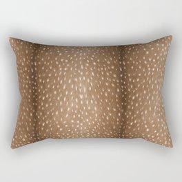 Deer Hide Rectangular Pillow