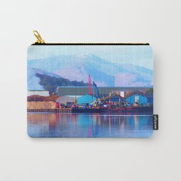 Industrial reflection at mountains edge Carry-All Pouch