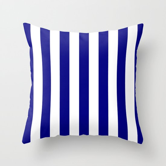 Vertical Stripes (Navy Blue/White) by 10813apparel