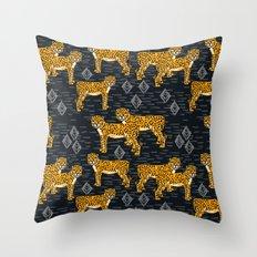 Safari Cheetah Throw Pillow