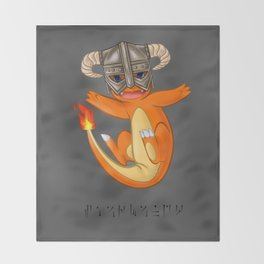 CHAR-MAN-DAAAAH!! Throw Blanket