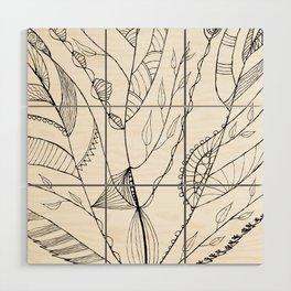 Amazing Leaves Wood Wall Art