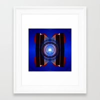 stargate Framed Art Prints featuring STARGATE by Adam Yasmin