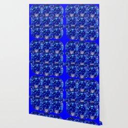 BLUE SAPPHIRES GEM BIRTHSTONE Wallpaper