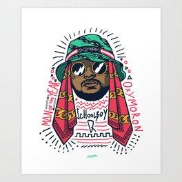 SchoolboyQ Art Print