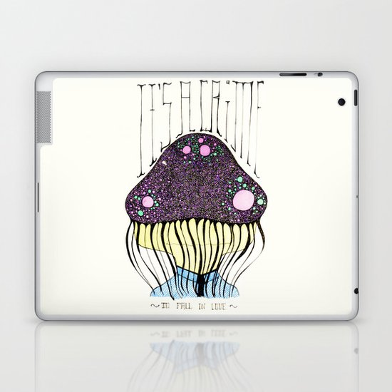 it's a crime Laptop & iPad Skin