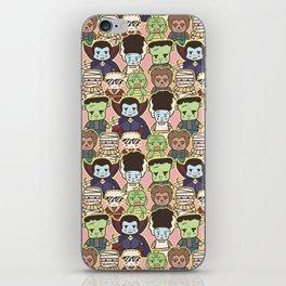 Kawaii Little Monsters Series 1 Pattern Print iPhone Skin
