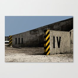Industrial Zone Canvas Print