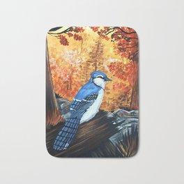 Blue Jay Life Bath Mat