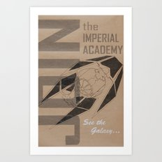 Join The Imperial Academy! Art Print