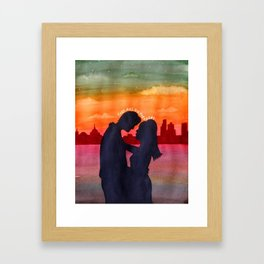Terry and Julie Waterloo Framed Art Print