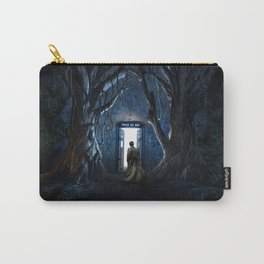Tardis Nightmare Forest Carry-All Pouch