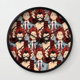 Eijiro Kirishima Wall Clock