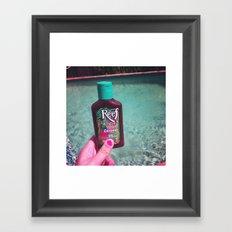 Sun Tan Framed Art Print