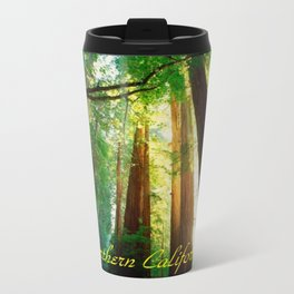 Magical Northern California, Humboldt County and Redwood Trees. Travel Mug
