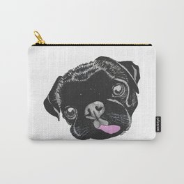 Black Pug Carry-All Pouch