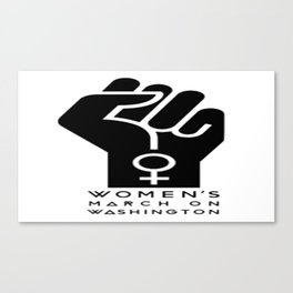 Women March Canvas Print