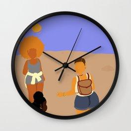 Morning Hike Wall Clock