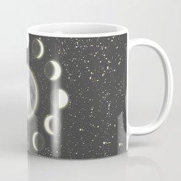 Telescope Dreamy Shine-Phases of the Moon Coffee Mug