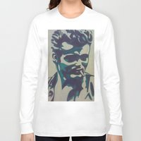 james franco Long Sleeve T-shirts featuring James by Artistry by Briana
