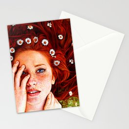 Quintessentially Redhead - Ballpoint Pen Stationery Cards