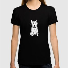 Milo the dog T-shirt