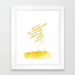 You've Got Mail- Lone Reed Framed Art Print