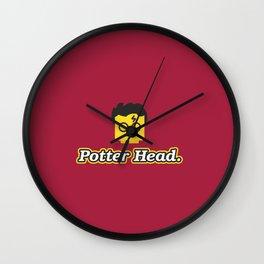 Potter Head Wall Clock