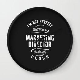 Marketing Director Wall Clock