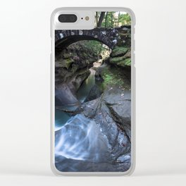 The Devil's Bathtub Clear iPhone Case