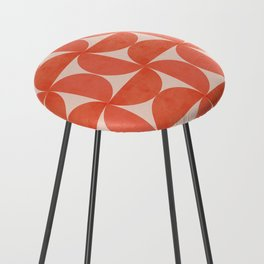 Abstraction_SHAPES_Pattern_Minimalism_001 Counter Stool