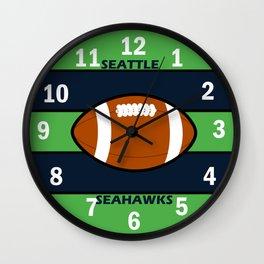 Seahawks Fans, Seattle Football Wall Clock
