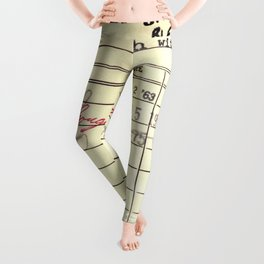 LibraryCard 510 Math Without Numbers Leggings