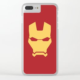 Iron man superhero Clear iPhone Case