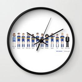 Boca Juniors - All-time squad Wall Clock