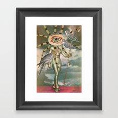 BIRD WATCHERS Framed Art Print
