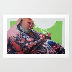autentico Art Print